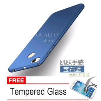 Hard Case for Xiaomi Redmi 4X + Free Tempered Glass