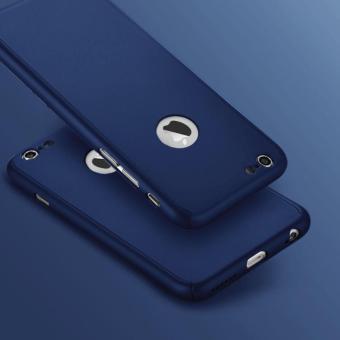 Hardcase 360 Iphone 6/6s Fullset Free Tempered Glass Case Full Body .