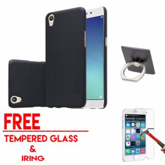Hardcase Case For OPPO A37 / NEO 9 Free Tempered Glass + Iring