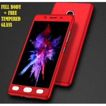 Hardcase Case Xiaomi Redmi 4X Full Body 360 Neo Hybrid Free Tempered Glass