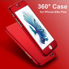 Hardcase Casing Full Body 360 iPhone 5/5S/5SE Free Tempered Glass