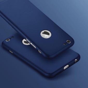 Harga Dan Spesifikasi Hardcase Iphone 6 6s Fullbody Case Depan Belakang Free Temperedglass Navy Biru Dongker