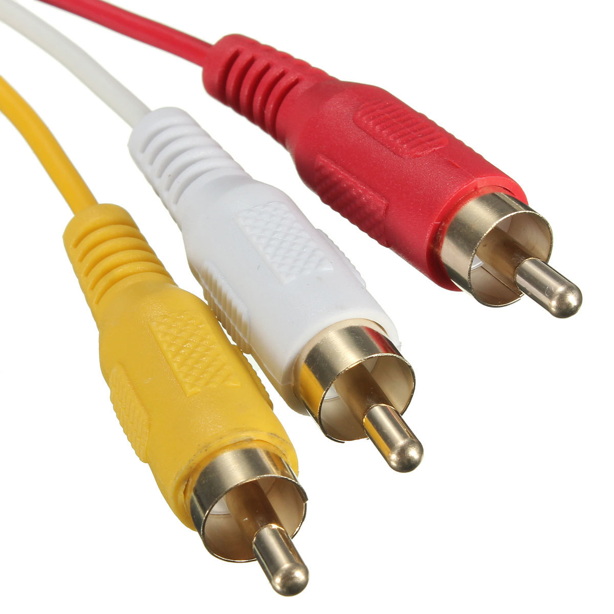 ... HDMI Male untuk 3 RCA dari konverter audio video adaptor HDTV kabel komponen AV 1.5 m ...