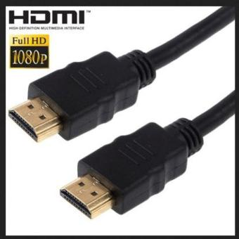 HDMI to HDMI Cable OD7.3mm Gold Plated 4K High Speed - 2m - Black