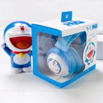 Headphones Karakter Animasi Doraemon