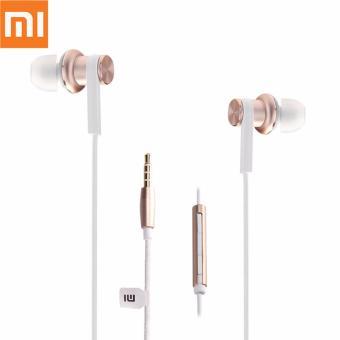 Xiaomi Earphone Big Bass Piston Mi 2nd Generation Handsfree/Headset - Gold NR1909. Rp