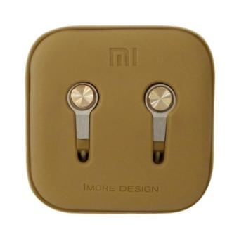 Headset Xiaomi Piston 3 Earphone - Big Bass - Gold