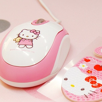 ... Case Power Bank Portable Gadget / HDD Protector Hard. Source · Hello Kitty lucu USB roti mouse optik kabel mouse