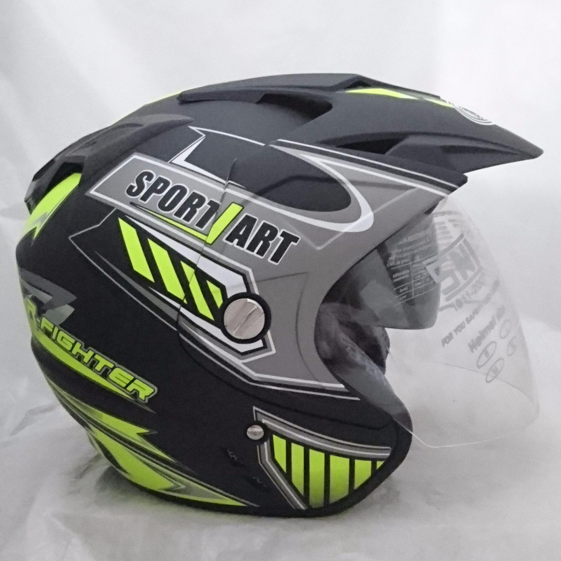 Lihat Helm Ltd Sport Dan Harga Terbaru Informasi Terkini G Fresh Spray Pengharum Deodoriser Dmn 2 Kaca Double Visor Black Doff Yellow