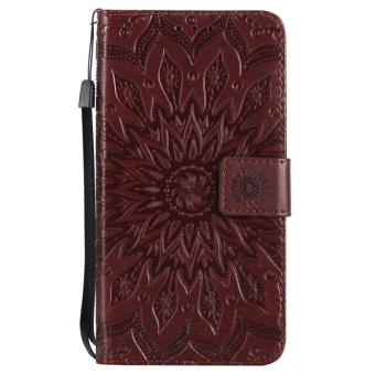 Hicase Anti-Scratch Protective Cover For Xiaomi Redmi Note 4X Sunflower Style PU Leather Flip