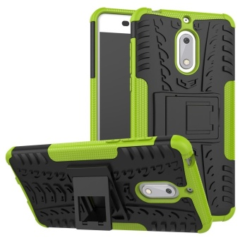 ... Hicase Detachable 2 in 1 Shockproof Tough Rugged Dual Layer Case Cover for Nokia 6