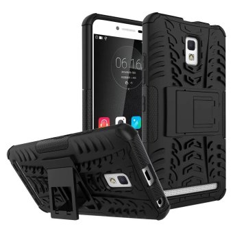 Hicase Detachable 2 in 1 Shockproof Tough Rugged Dual-Layer Case Cover UNTUK LENOVO A6600