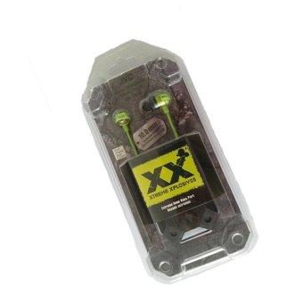 Kualitas Tinggi Super Bass earphone headphone Di Telinga Headset earphone Olahraga Lari (hijau)