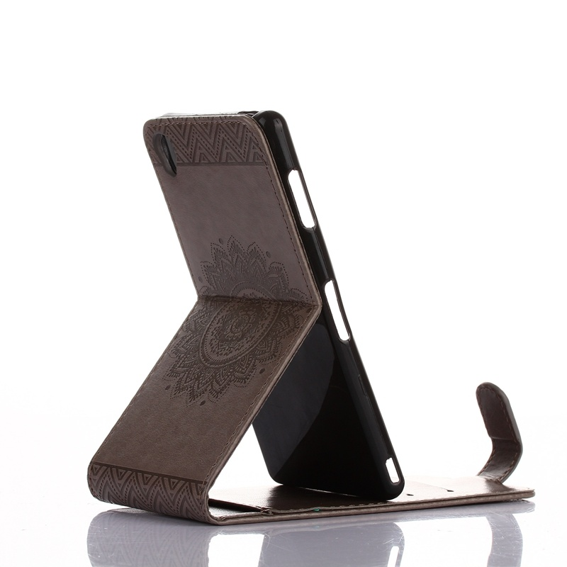 High Quality Embossing PU Leather Wallet Stand Flip up and downFlip Case Cover .