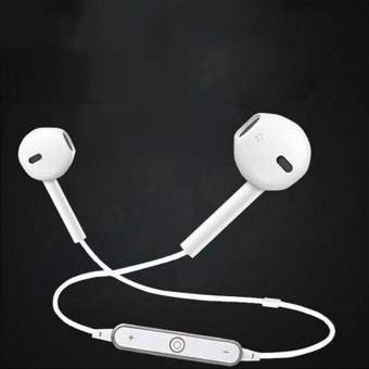 High Tech S6 Bluetooth v4.1 In-ear Earphones Headphone Headset For iPhone Samsung - intl