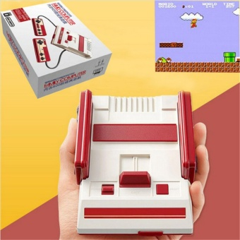 Harga HIMM RS-36 classic retro 30 anniversary video game children'shandheld game console 500 different games family tv game - intl