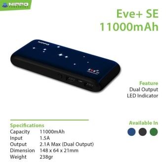 Hippo Power Bank Eve Plus SE 11000 mAh Simple pack