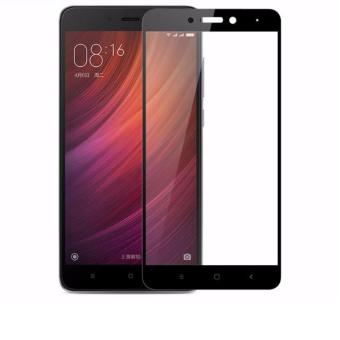 HMC Xiaomi Redmi Note 4 - 2.5D Full Screen Tempered Glass + LisBlack