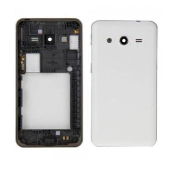 Housing Backdoor Fullset Casing - Back Case Plus Tulang Body - Samsung Galaxy Core 2