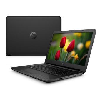 """HP 14-BW005AU - A4-9120 - RAM 4GB - HDD 500GB - 14"""" - DOS - Hitam"""