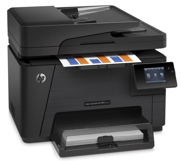 Hot Deal HP Color LaserJet Pro MFP M177fw - Hitam