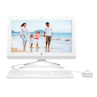 "HP PC All in One 20-c024L - Intel J3710 - 4GB RAM - 19.45"" - DOS - Putih"