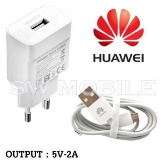 Huawei Travel Charger Output 5V-2A Micro USB - Putih Original 100%