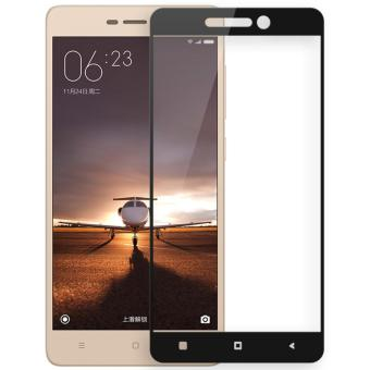 Hunter 3D Full Cover Tempered Glass Screen Protector for Xiaomi Redmi Note 4 - Black
