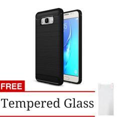 Hunter Rugged iPaky Carbon Fiber Shockproof Hybrid Case for Samsung Galaxy J5 2016 (J510)