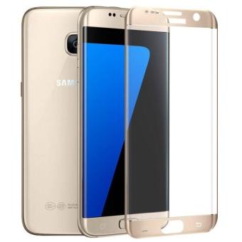 Hybrid 3 In1 Phone Case dengan Full HD cakupan Tempered Glass / Hard plastik PC Matte ponsel pelindung kembali Cover Shell untuk Galaxy S7 Edge - 2