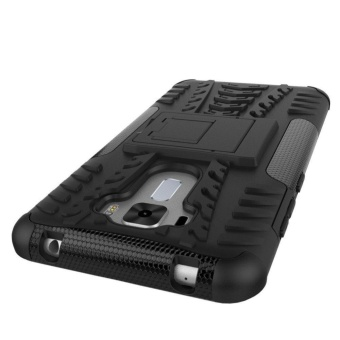 Hybrid Rugged Heavy Duty Hard Back Cover Case for ASUS ZenFone 3 Laser 5.5 Inch ZC551KL Stand Case with Kickstand - intl