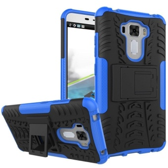 Hybrid Rugged Heavy Duty Hard Back Cover Case for ASUS ZenFone 3Laser 5.5 Inch ZC551KL Stand Case with Kickstand - intl