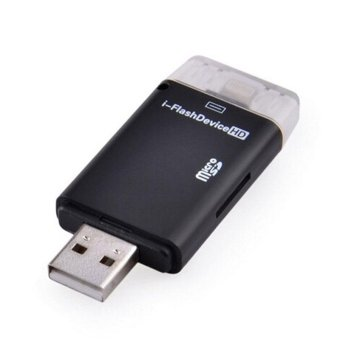 i-Flash Drive Device External TF Memory Card Reader OTG For iPhone 5 6 6Plus - intl