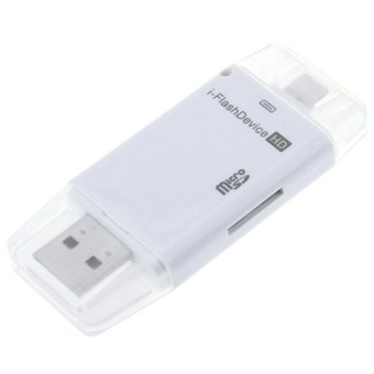 i-Flash Drive Device TF Memory Card Reader OTG For iPhone 5 5S 6 6Plus iPad - intl