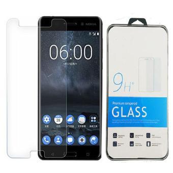 Icantiq Temper Glass Nokia 6 Ukuran 5.5 Inch Tempered Glass Nokia 6 Anti Gores Kaca 9H