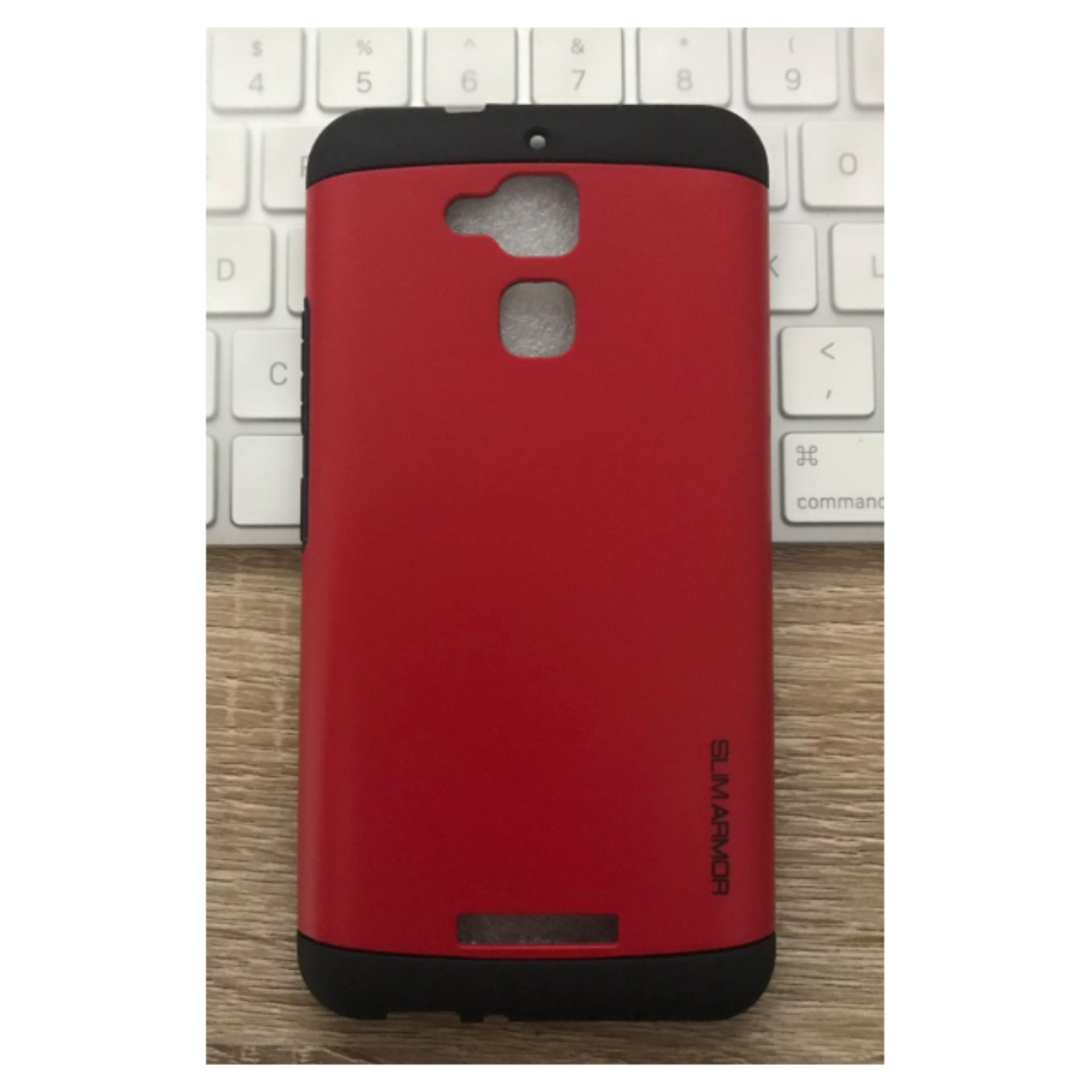 Flash Sale iCase Slim Armor Series 2 Layer for Asus Zenfone 3 Max ZC520TL - Merah