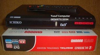 Ichiko Set Top Box DVB T2 TV Digital Generasi Terbaru Hitam .