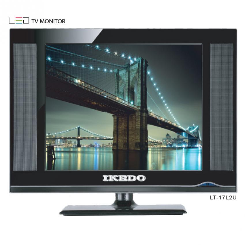 Flash Sale Ikedo LED TV 17 inch - Hitam