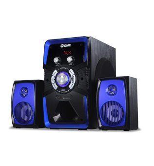Harga GMC 885U Speaker Aktif - Bluetooth Connection - Biru