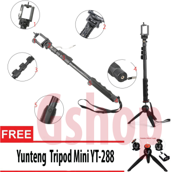 Harga Yunteng YT-1188 Self Picture Monopod For Mobile U Holder + Yunteng 228 Combo Set