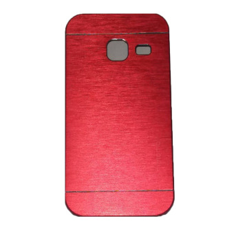 Harga Motomo Samsung Galaxy J1 Mini Hardcase Backcase Metal Case - Merah