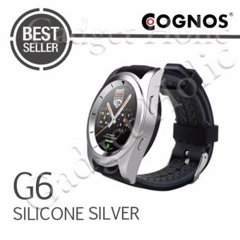 Harga Cognos Smartwatch G6 - Heart Rate - Silicone Silver