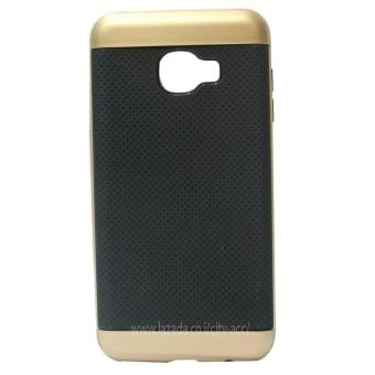 Harga IPAKY Polycarbonate Case For Samsung Galaxy C5 - Gold