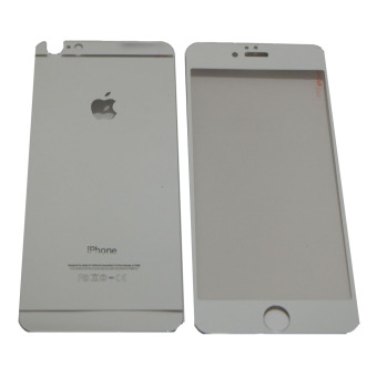 QC Tempered Glass 2in1 Mirror Kilap Glossy For Apple iPhone 6/ Iphone6/ iPhone 6G