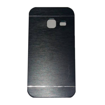 Harga Motomo Samsung Galaxy J1 Mini Hardcase Backcase Metal Case - Hitam