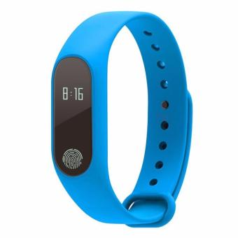 M2 Smart Bracelet Heart Rate Monitor Bluetooth Smartband Health Fitness Tracker Smart Band Wristband for Android iOS - intl