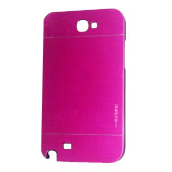 Harga Motomo Samsung Galaxy Note 2 / N7100 Metal Hardcase / Metal Back Cover / Hardcase Backcase / Metal Case - Pink