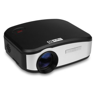 Harga CHEERLUX C6 Mini LED Projector 800x480 1200Lm EU Plug (Black) - Intl