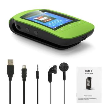 HOTT A505 8GB MP3 / MP4 Player Stereo Music Player Support Sport Pedometer Bluetooth Function FM