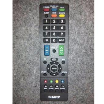 Harga SHARP Remote TV LED/LCD Universal - Hitam